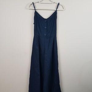 427ff310b92a GAP Pants - GAP 100% Linen Cami Jumpsuit